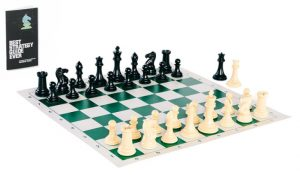 Vinyl Tournament Chess Set