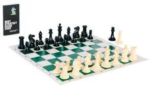 Vinyl Tournament Chess Set